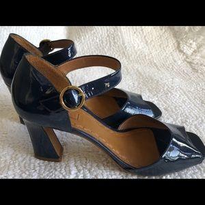 Blue arezzo sandals 39 (37 brazilian)